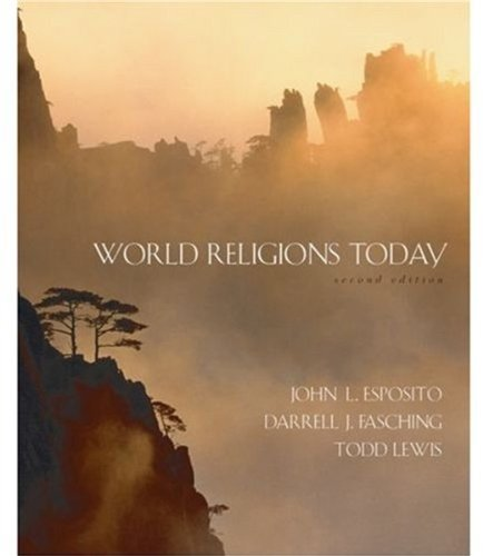 World Religions Today by John L. Esposito (2006-01-26)