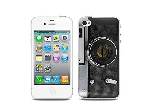 Apple iPhone 4/4 S - Hülle, Silikon, Gummi Schutzhülle - Retro Aparat
