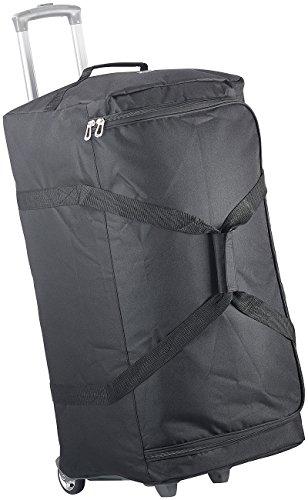Xcase Reisetasche mit Rollen: Ultraleichte 2in1-XXL-Reisetasche mit abnehmbarem Trolley, 110 Liter (Reisetasche mit Rollen XXL leicht)