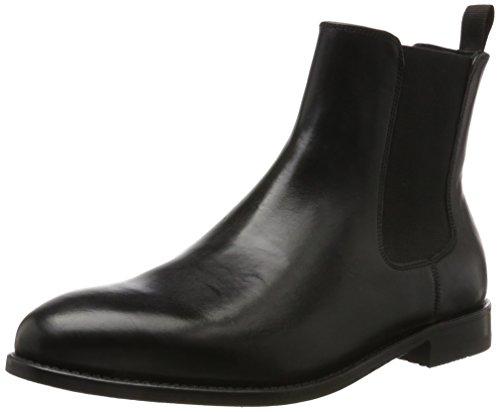 Clarks Herren Ellis Franklin Chelsea Boots Schwarz (pelle Nera)