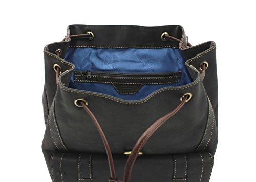 Visconti Hunter Collection RHINO XL Sac à dos en cuir 16161 Huile Tan Oil Brown