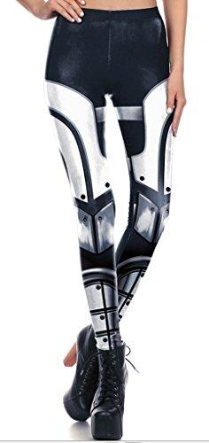Belsen - Legging - Femme multicolore Vest XL Leggings