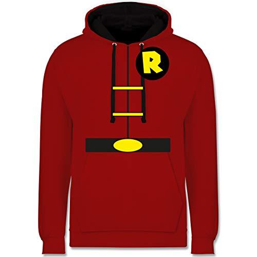 - Superman Rot Und Schwarz Kostüm