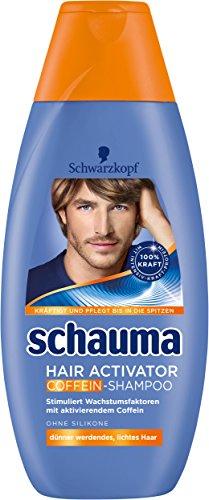Schwarzkopf Schauma Hair Activator Koffein Shampoo, 4er Pack (4 x 400 ml)