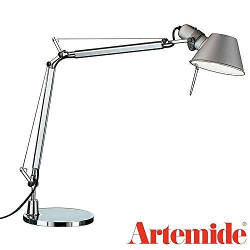 Artemide Tolomeo Mini Tavolo a005910 + a008600, aluminium