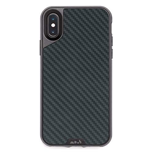 Mous Hülle für iPhone X/XS - Aramid-Karbon-Faser - einschl. Bildschirmschutz