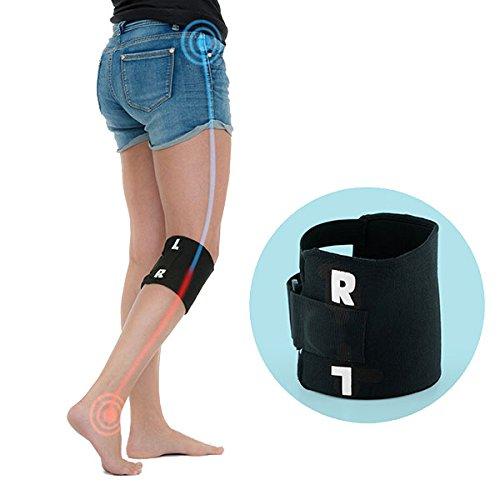 Shop Story–Rodillera de acupresión banda con punto de presión tras la rodilla ayuda a aliviar dolor ciática mal de dos etc
