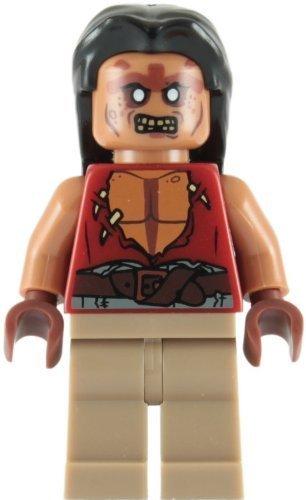 LEGO Piratas Del Caribe: Yeoman Zombi Henchman Minifigura