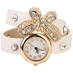 niceEshop(TM) Modern Schmetterling Design Strassstein Armband Stil Uhr