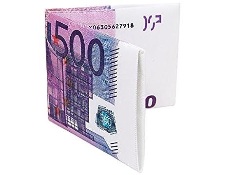 Portefeuille Porte-Monnaie en forme de Billet, :Billet 500 Euro 03