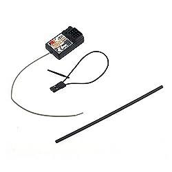 hahuha Toy ? Dekompressionsspielzeug,Flysky FS-GR3E 3 Kanal 2.4G Empfänger GT3B, GR3C Kompatibel mit RC Car Truck Failsafe