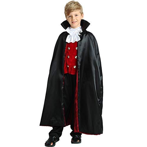 CYGGA Dracula Vampirkostüm Kostüm Set Vampir Kinder Halloween Karneval 110-140 - Vampir Kostüm Ziel