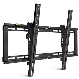 SIMBR TV Wandhalterung Neigbar ±15° VESA 600x400 für LED LCD Plasma Flachbildfernseher Curved TVs von 26 bis 75 Zoll (87 bis 250cm) mit Einer Tragfähigkeit von 60kg