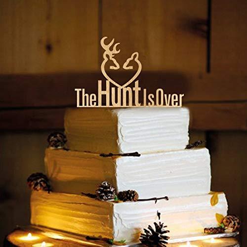 Hochzeit Hochzeit Kuchen Topper Rustikal Shabby Chic Redneck Cowboy Outdoor Western ()