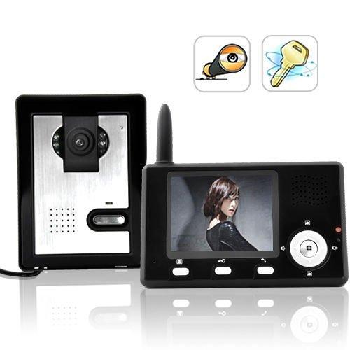 BW? Entry Guardian - Wireless Video Door Phone (CMOS Sensor) (Cmos Phone Video Door)