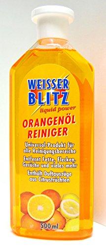Orangenöl Reiniger - Orangenreiniger - WEISSER BLITZ - 500 ml