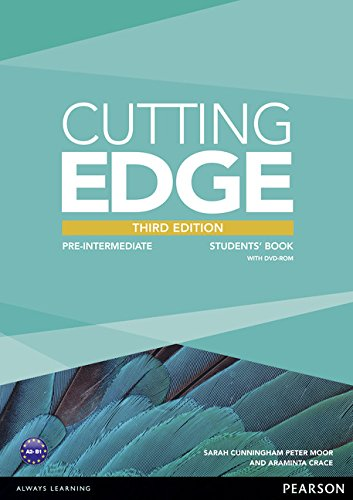 Cutting edge. Pre-intermediate. Student's book. Per le Scuole superiori. Con CD-ROM. Con espansione online