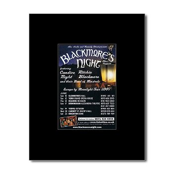 blackmores-night-escape-by-moonlight-tour-2007-matted-mini-poster-135x10cm