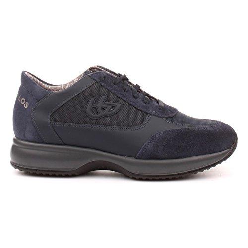 Byblos uomo sneakers in pelle blu 667253 autunno inverno 2017 EU 43