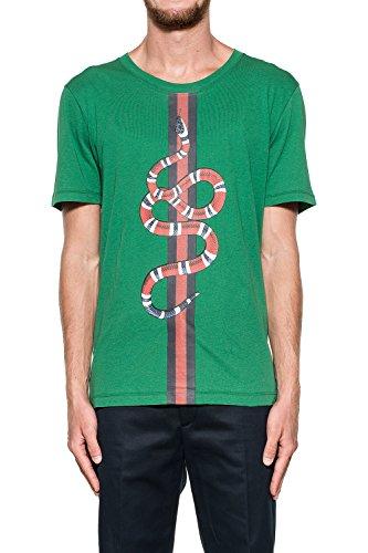 gucci-hombre-432086x5c543013-verde-algodon-t-shirt