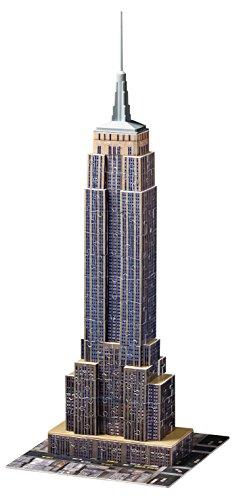 Das Empire State Building (Ravensburger 12553 - Empire State Building - 216 Teile 3D Puzzle-Bauwerke)