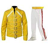 Fashion_First -  Giacca - Uomo Freddie Mercury Costume M