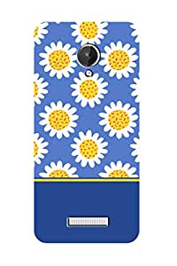 ZAPCASE PRINTED BACK COVER FOR MICROMAX CANVAS SPARK Multicolor