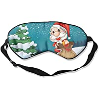 Eye Mask Eyeshade Christmas-Santa Sleeping Mask Blindfold Eyepatch Adjustable Head Strap preisvergleich bei billige-tabletten.eu