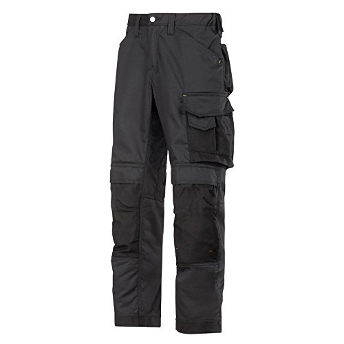 Snickers Workwear, Pantaloni di sicurezza, Nero (Nero-Nero), 48