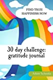 30 day challenge: Gratitude journal: Find true happiness now