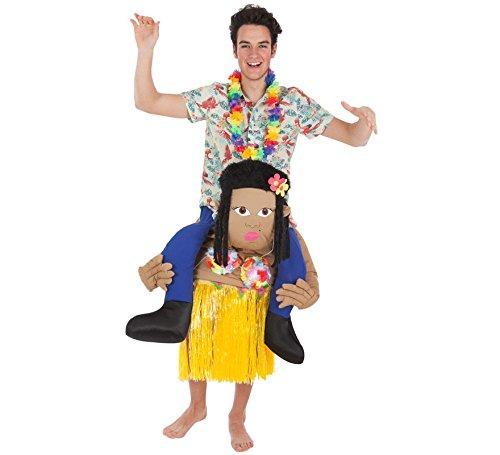 Kostüm Urlauber - Zzcostumes Tourist Kostüm auf den Schultern von Hawaiian für Erwachsene