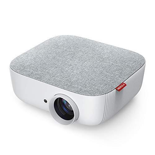 Nebula Prizm Beamer von Anker, Multimedia Projektor mit 480P LCD Bildqualität, 500 Lumen / 100 ANSI Lumen, 40-100 Zoll Bild, Aux-Out für Filme, Videos usw. (Aktualisierte Version)