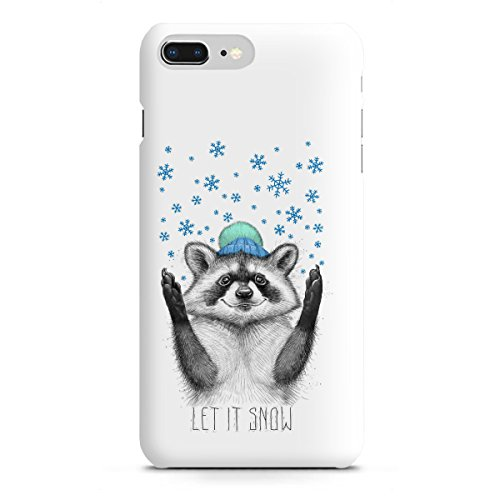 artboxONE Apple iPhone 8 Plus Premium-Case Handyhülle Let it Snow von Nikita...