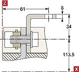 Schneider elec pbt - pac 65 01 - Juego pletina escuadra +separador fase nsx400/630(3u)