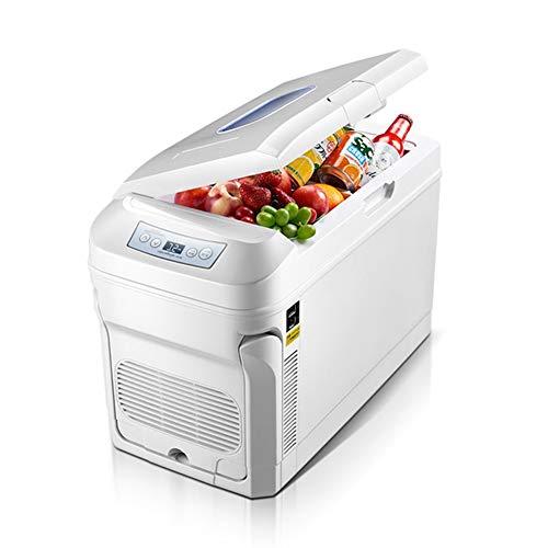 ADHW Elektrische Kühlbox Tragbare DC/AC-Rollkühler Wärmer Kühlschrank Gefrierschrank 37 Quart 35 Liter mit automatischem Verriegelungsgriff Digitalanzeige Kühlschrank