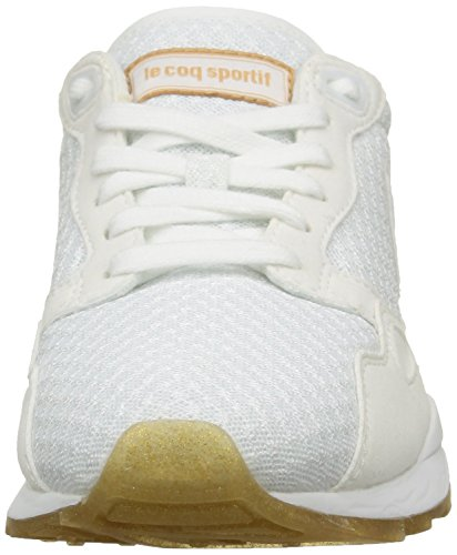 Le Coq Sportif - Lcs R900 W Sparkly, Sneaker Donna Bianco (Blanc (Optical White))