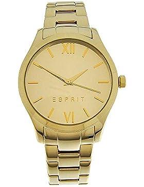 Esprit Damen-Armbanduhr Analog Quarz Edelstahl gold ES108132010