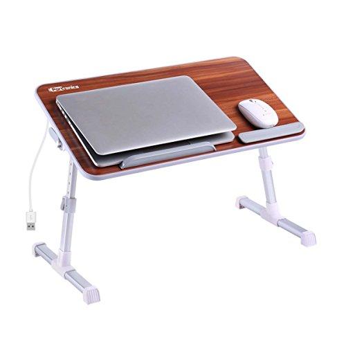 Portronics POR-895 My Buddy Plus Adjustable laptop cooling table, portable laptop desk, portable laptop table, Portable Multipurpose Laptop Table, Foldable laptop cooling table