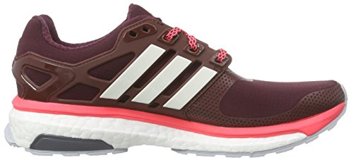 adidas Energy Boost 2.0 Atr, Chaussures de course femme Marron - Braun (Maroon/Chalk White/Flash Red S15)