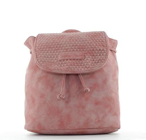 Fritzi aus Preussen Damen Cora Rucksackhandtasche, Pink (Rose), 14.5x29x29 cm