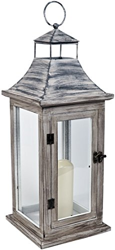 firefly-ffwlw50-50-cm-wooden-lantern-winchester-with-led-candle-brown