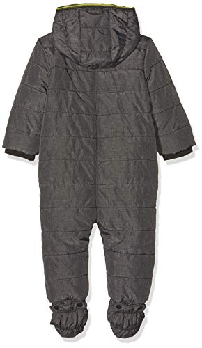 s.Oliver RED LABEL Unisex - Baby Winter-Overall mit Fleecefutter dark grey 92