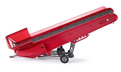 SIKU 2466, Elektrisches Förderband, 1:32, Metall/Kunststoff, Rot, Batteriebetrieben, Ankoppel- und verstellbar