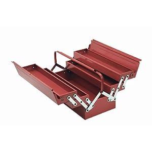 Cogex 62100 – Caja de herramientas (metálica, 5 compartimentos)