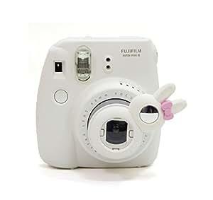 [Fujifilm Instax Mini Close up Lens Set de filtres]-CAIUL pour Appareils photo de Fujifilm Instax Mini 8 7s(collection de lapin)-Blanc