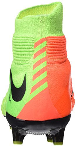 Nike Hypervenom Phantom 3 Ag-Pro, Scarpe da Calcio Uomo Verde (Electric Green/black/hyper Orange/volt)