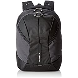 Samsonite 4mation Laptop Backpack L Mochila Tipo Casual, 34 Litros, Color Negro/Plateado, 45.5 cm