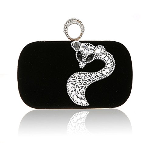 Diamante di Fox mini/Party clutch bag-B B