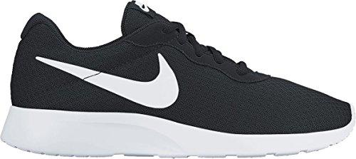 Nike Herren Tanjun Laufschuhe, Schwarz (011 Black/White), 45 EU