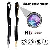 HD 1080P Kein Loch Versteckte Mini Spy Pen Kamera Camcorder Video Recorder Kindermädchen Kamera Kugelschreiber Loop Recording
